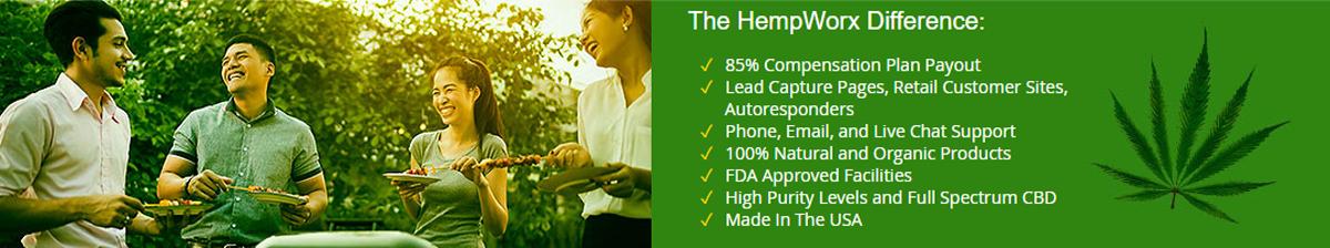 HempWorx Affiliate Benefits