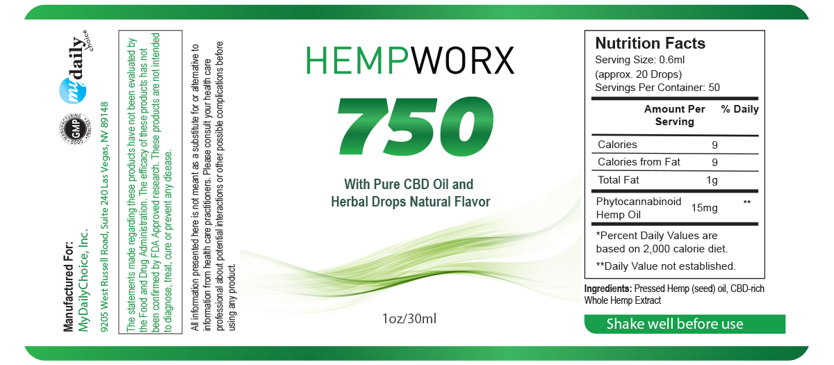 Made By Methodist Message || Hempworx 750 Oil